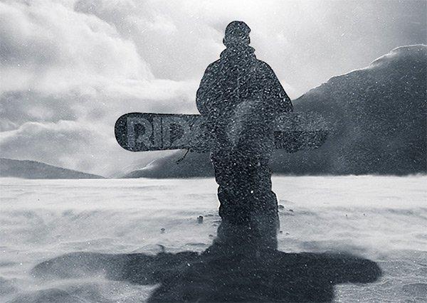 adidas Snowboarding in Showcase of 创意漂亮的单页网站 - by 设计达人网