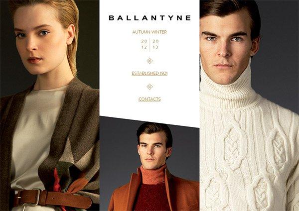Ballantyne in Showcase of 创意漂亮的单页网站 - by 设计达人网