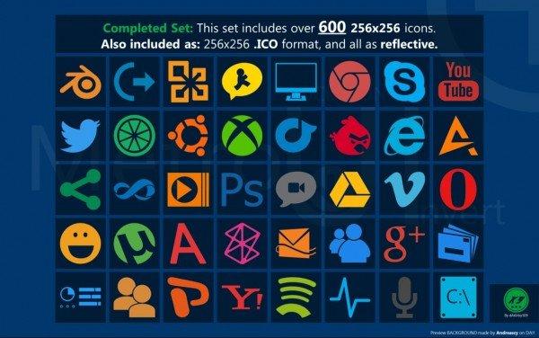 设计达人 -windows 8 Metro ui icon 图标素材下载
