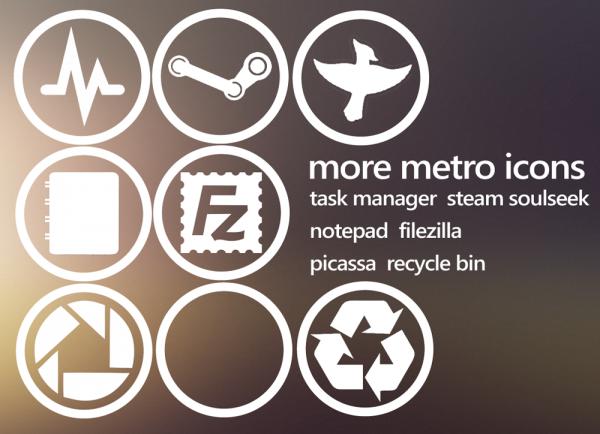 设计达人 - windows 8 Metro ui icon 图标素材下载