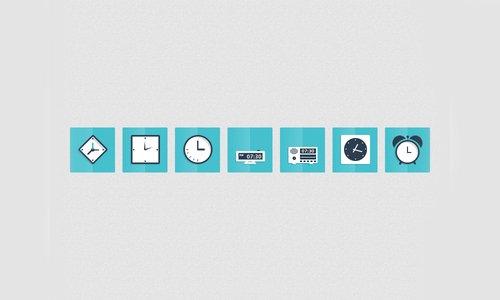 扁平化图标与UI KIT设计素材-19
