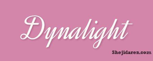 设计达人网 - 手写英文字体Calligraphy-Dynalight