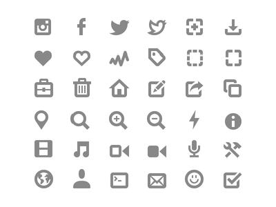 图标Icon设计素材
