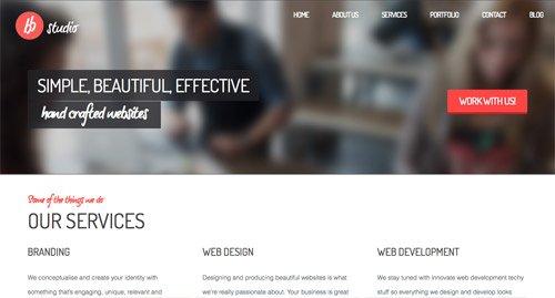 网页设计欣赏BrightByte Studio
