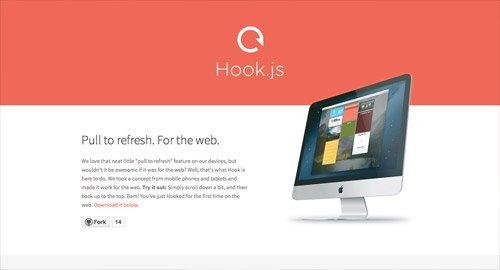 网页设计欣赏Hook.js