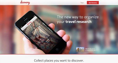 网页设计欣赏dcovery