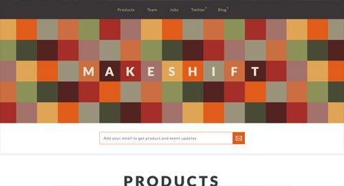 网页设计欣赏Maskeshift